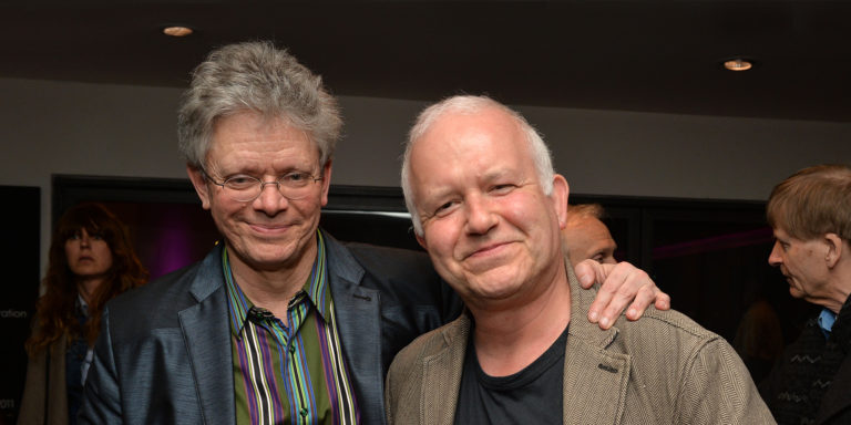 David Harrington with David Jones