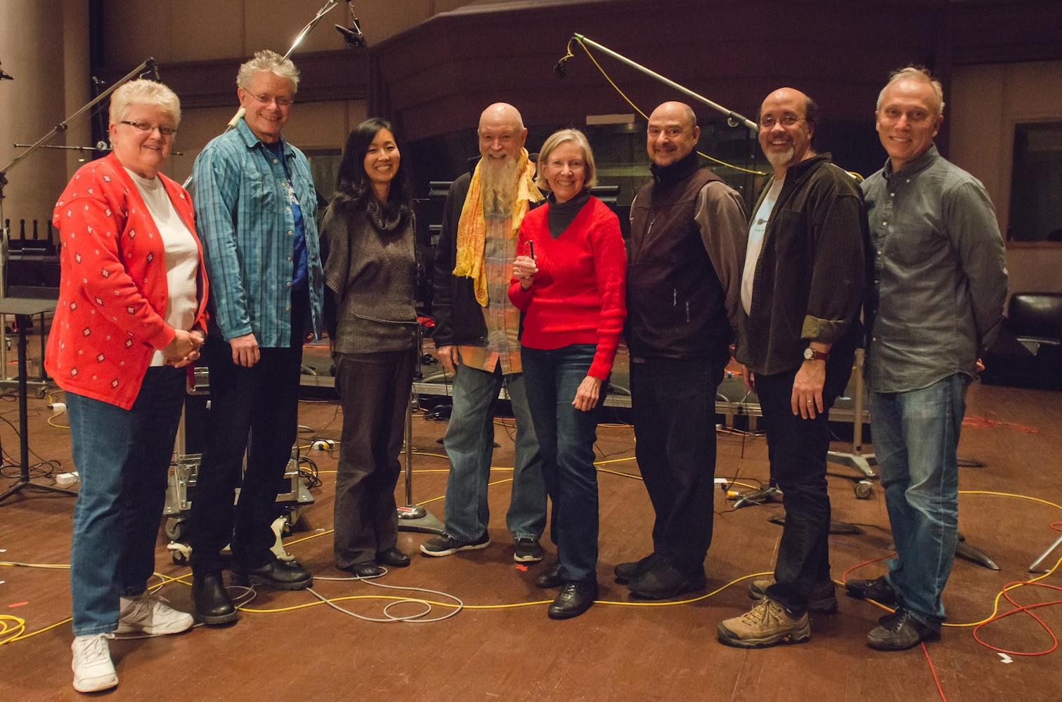 Kronos with Leslie Ann Jones, Terry Riley, Judith Sherman and Dann Thompson