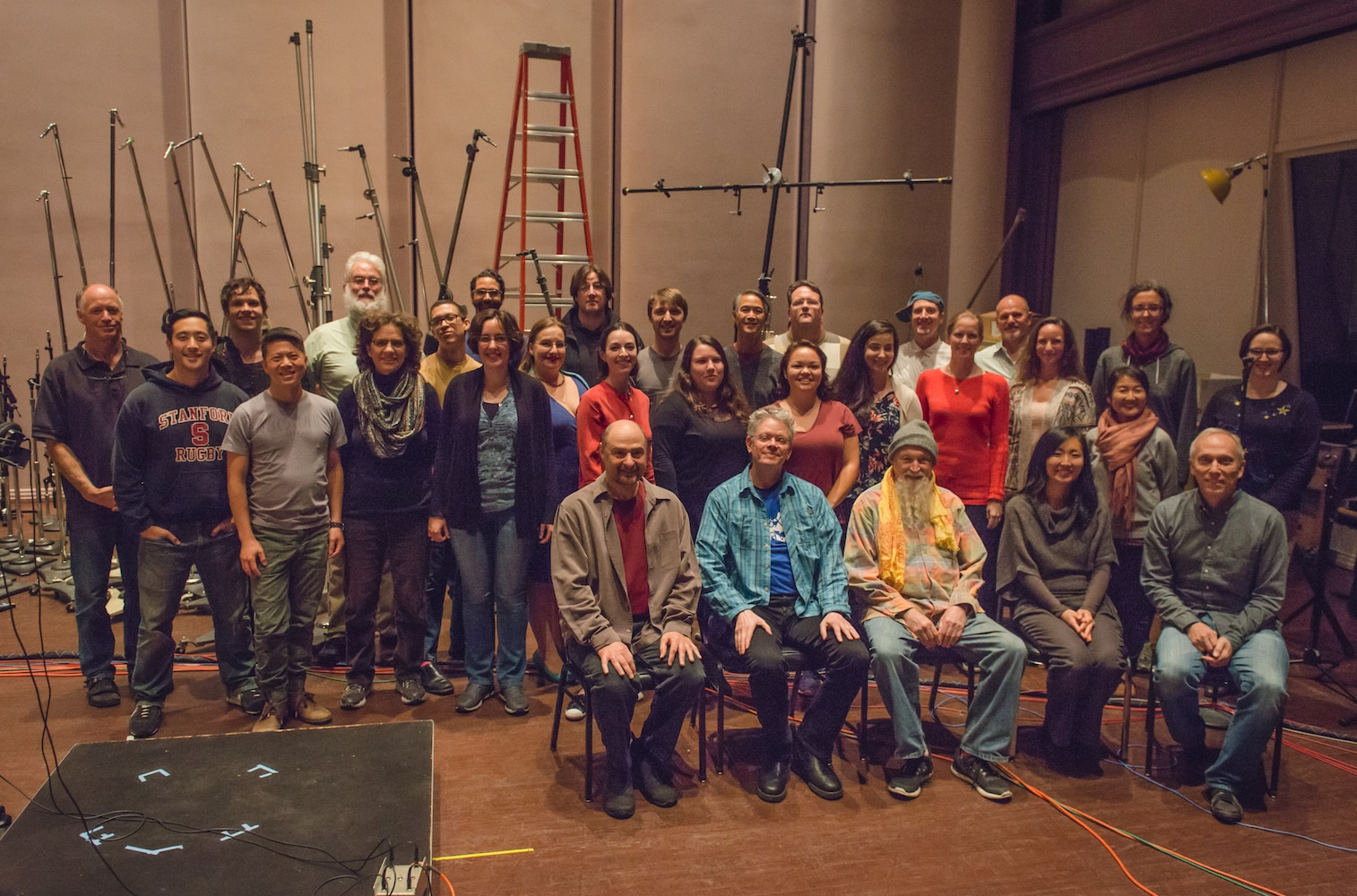 Kronos with Terry Riley and Volti