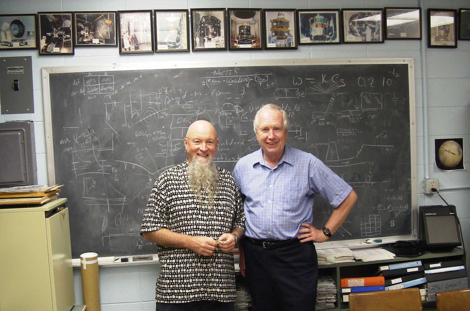 Terry Riley and Don Gurnett