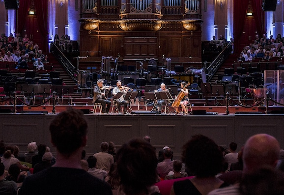 Kronos Quartet at the Concertgebouw