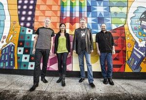 Kronos Quartet, credit Jay Blakesberg