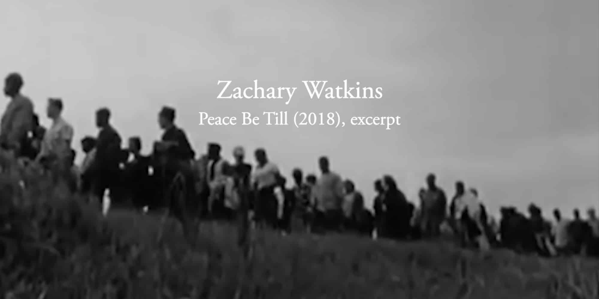 Film still from Peace Be Till video